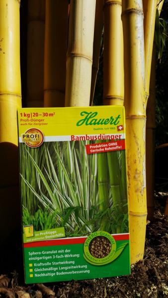 Bambusdünger von Hauert
