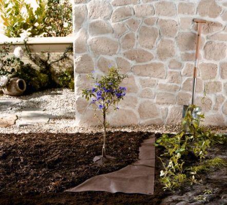 bio mulchvlies gegen unkraut d nger erde drainage garten zubeh r bambus und pflanzenshop. Black Bedroom Furniture Sets. Home Design Ideas