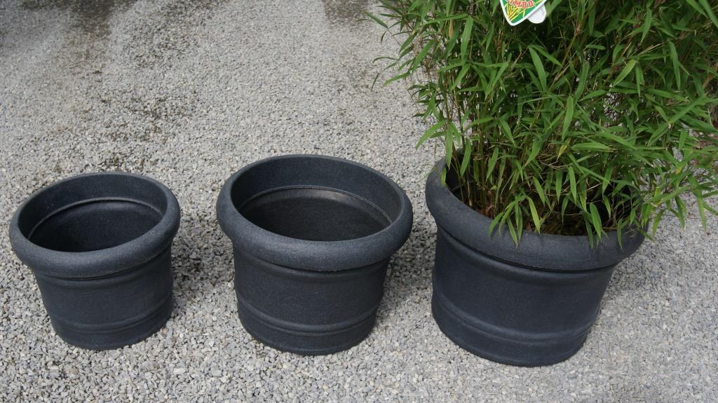 rotationstopf rund pflanzgef sse garten zubeh r bambuswald bambus und pflanzen f r haus. Black Bedroom Furniture Sets. Home Design Ideas