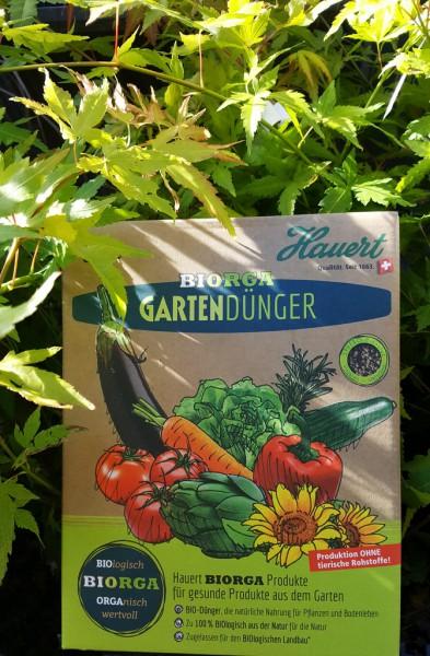 Biorga Gartendünger von Hauert