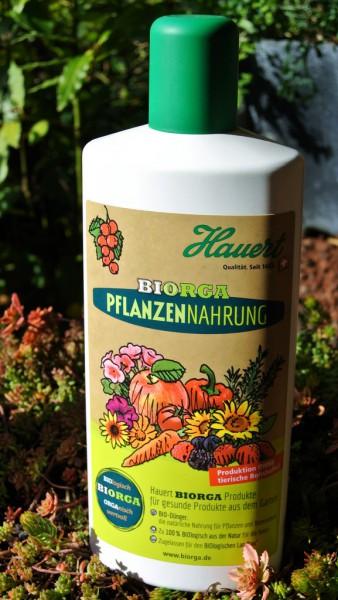 Biorga Pflanzennahrung, Flüssigdünger