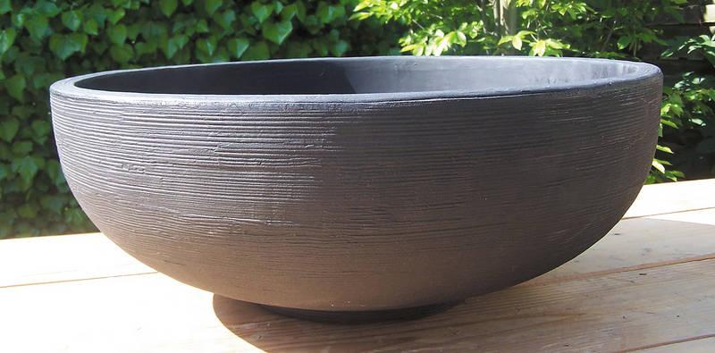 schale orinoco pflanzgef sse garten zubeh r bambuswald bambus und pflanzen f r haus und. Black Bedroom Furniture Sets. Home Design Ideas