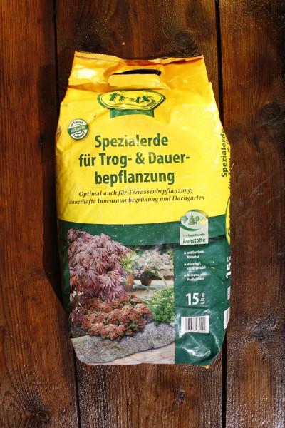 Spezialerde für Trog- und Dauerbepflanzung