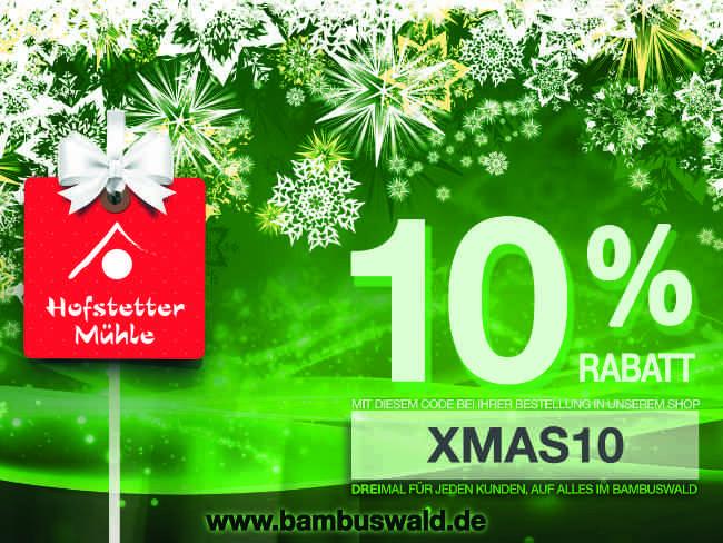 10% Rabagutschein www.bambuswald.de