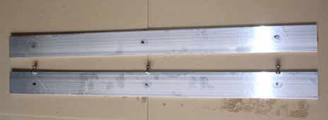Bambus Rhizomensperre Verschlussschiene