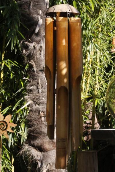 Windspiel Bambus